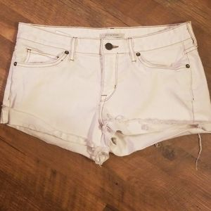 Rich and Skinny White Shorts 28